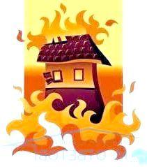 Фото - Що робити, якщо згорів будинок?