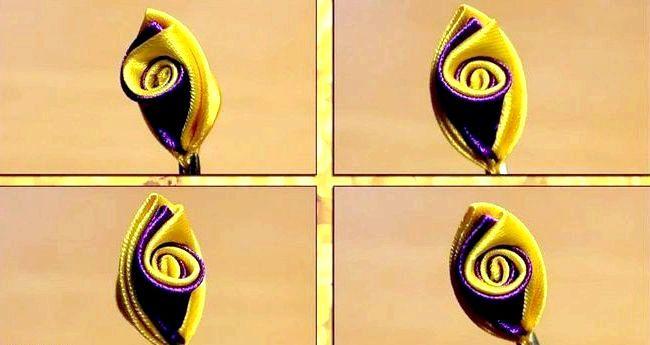 Виготовлення пелюсток канзаши своїми руками