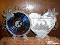 Фото - Як Зробити красиву рамку для фотографій cd дисків