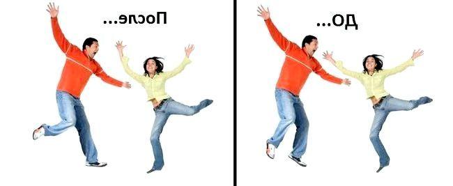 Фото - Як рухати тілом на фото photoshop або рухаємо частинами тіла