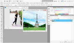 Фото - Як накласти картинку на картинку в фотошопі?