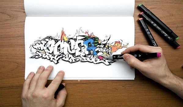 Фото - Як навчиться малювати графіті?