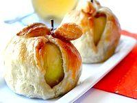 Фото - Як приготувати яблука, запечені в листковому тісті