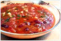 Фото - Як приготувати пісний горіховий суп із квасолею.