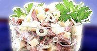 Фото - Як приготувати салат баварський з ковбасою