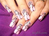 Фото - Як малювати візерунки на нігтях?