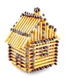 Фото - Як зробити будиночок із сірників
