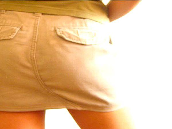 Як зробити міні спідницю з джинс