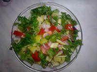Фото - Як зробити літній салат з овочів «Піканто»