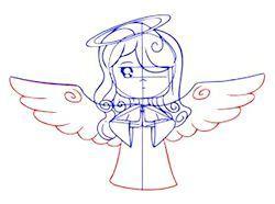 Фото - Як зробити малюнок ангела олівцем