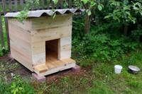 Фото - Як зробити теплу будку для собаки своїми руками?