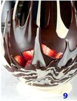 Як зробити вазу з шоколаду?