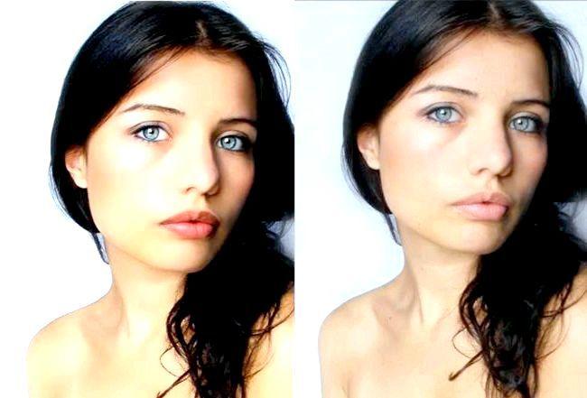 Фото - Професійна ретуш фотографій в photoshop або як зробити в фотошом модельне обличчя