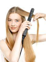 Фото - Як випрямляти волосся праскою?