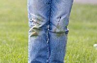 Як вивести плями від трави