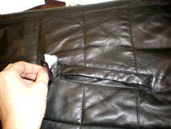 Як заклеїти шкіряну куртку?