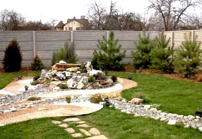 Фото - Ландшафтний дизайн двору приватного будинку