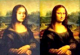 Фото - Мона Ліза з фото своїми руками в photoshop