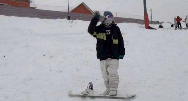 Фото - Ковзання ногами на сноуборді
