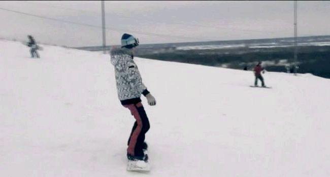 Фото - Зісковзування сноуборд